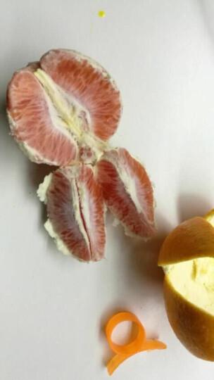 江西赣南橙子 血橙 红肉脐橙 鲜橙 新鲜水果 10斤装 晒单图