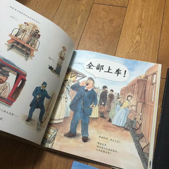 凯迪克金奖绘本系列:火车头+灯船+登月(陆海空三部曲 套装全3册) 晒单图