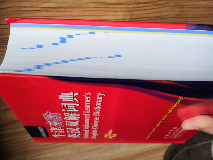 牛津高阶英汉双解词典(第7版) 晒单图