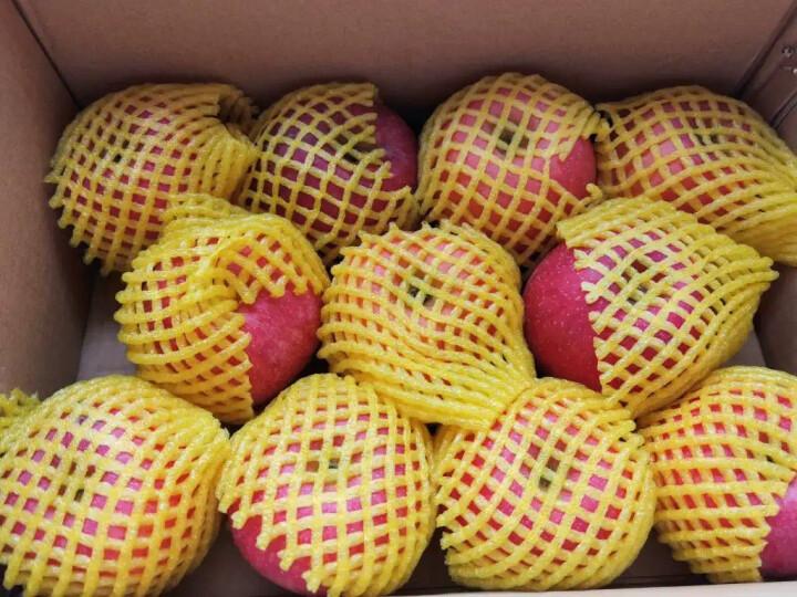 华圣 陕西精品红富士苹果 12个 一级铂金果 2.1kg 单果约160-180g 新鲜水果 中秋礼盒 晒单图