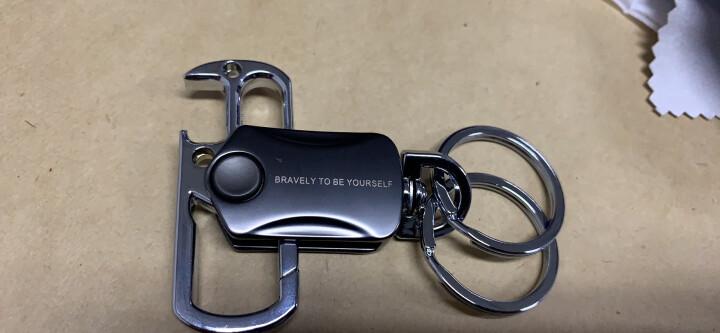 拓驰 指尖陀螺钥匙扣 带开瓶器 好玩实用 减压 创意汽车钥匙链挂件 金属钥匙圈 定制礼品 钥匙扣+激光刻字 晒单图