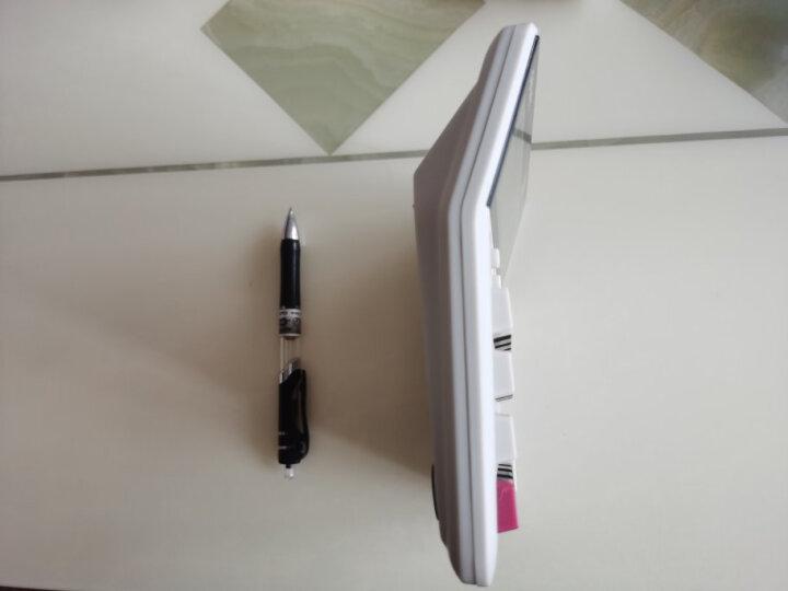 得力(deli)财务办公桌面计算器 耐磨按键桌面计算机 办公用品 银色1673 晒单图