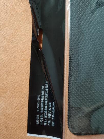 灵蛇(LINGSHE)鼠标垫 家用办公游戏鼠标垫 办公鼠标垫大号 精密包边防滑可水洗P03蓝色 晒单图
