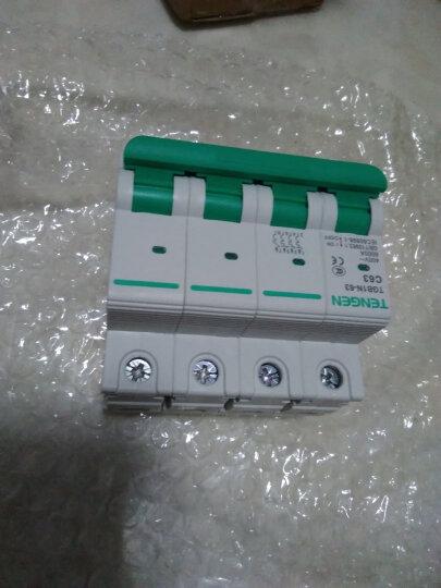 天正电气 空气开关 TGB1N 4P C 63A 6KA 01060270205 微型断路器 晒单图