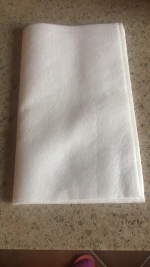 爱格(aige) 爱格 厨房抹布吸水清洁布不易掉毛洗碗巾白洁布不易沾油 三片装 晒单图