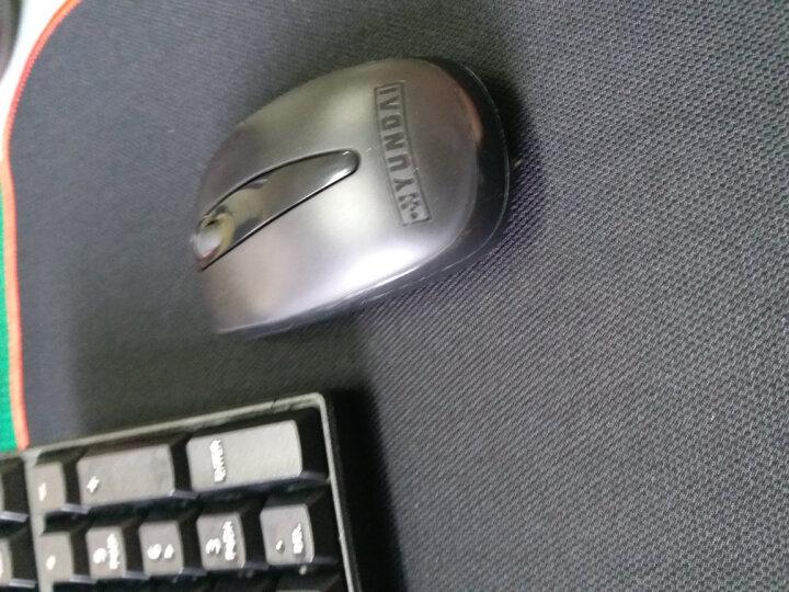 灵蛇 鼠标垫 游戏鼠标垫 电脑办公桌键盘垫大号 精密包边 防滑 可水洗 P20黑色 晒单图
