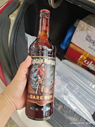 摩根船长(Captain Morgan)洋酒 摩根黑朗姆酒700ml 晒单图