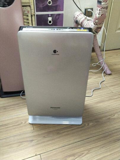 松下(Panasonic)空气净化器家用除过敏原 除甲醛除雾霾PM2.5异味二手烟卧室 纳米水离子F-PXF35C-S 晒单图