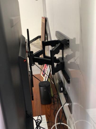 NB F150(17-35英寸)液晶电脑显示器支架多功能旋转显示器支架壁挂自由升降伸缩架三星AOC戴尔等部分通用黑色 晒单图