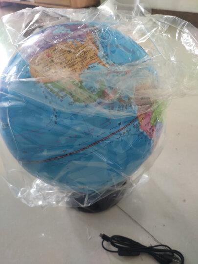 得力(deli)LED灯地球仪 Φ32cm木座金属架 办公家居摆设儿童礼物 教师节礼物 办公用品 3036 晒单图