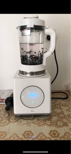 美国洁氏(JESE)破壁机加热家用变频 真空多功能辅食榨汁破壁料理机养生机豆浆机沙冰机JS-100S 晒单图