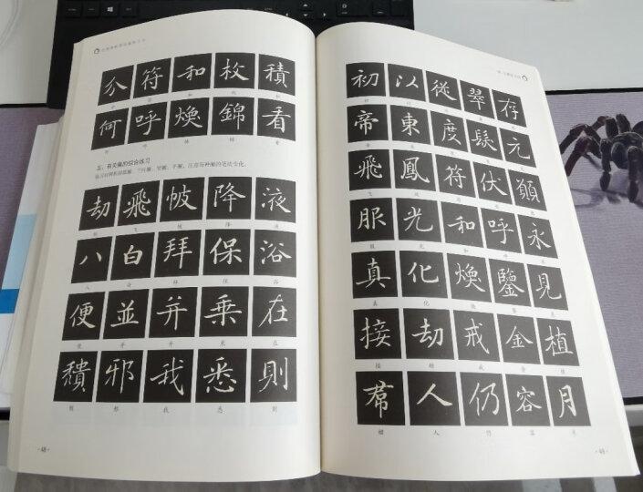 经典碑帖笔法临析大全:唐 小楷灵飞经 晒单图