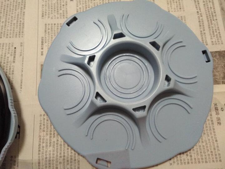 家杰 可旋转双层置物架可放置易拉罐 厨房调味瓶收纳架 JJ-SN308 晒单图