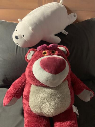 爱尚熊抱枕公仔毛绒玩具玩偶娃娃抱枕长条布娃娃女生睡觉抱娃娃玩偶生日礼物送女友男女生北极熊70cm 晒单图