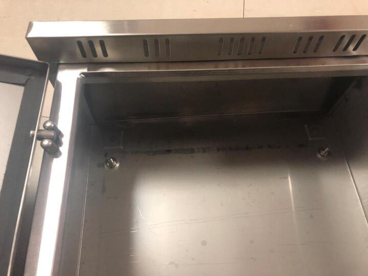 shthde 不锈钢户外配电箱防雨配电箱室外配电箱强电箱防雨箱防水箱监控设备箱201材质 600*800*200(手锁) 晒单图