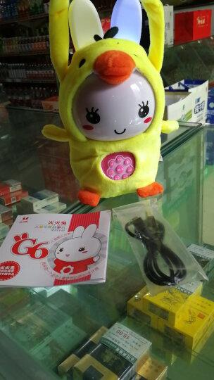 火火兔早教学习机故事机婴幼儿童宝宝益智玩具G6系列 wifi款G63粉色(防摔包+8G) 晒单图