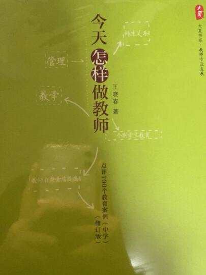 大夏书系·今天怎样做教师:点评100个教育案例(中学)(修订版) 晒单图