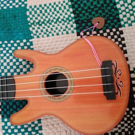 贝芬乐 buddyfun 儿童吉他 尤克里里弦外之音 音乐早教益智玩具启蒙乐器男女孩礼物 带拨片88042红(中号) 晒单图
