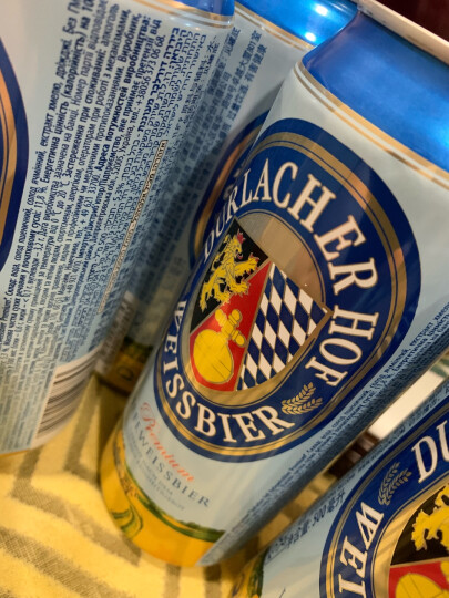 德拉克(Durlacher)黑啤酒500ml*12听礼盒装 德国原罐进口 麦香浓厚 晒单图