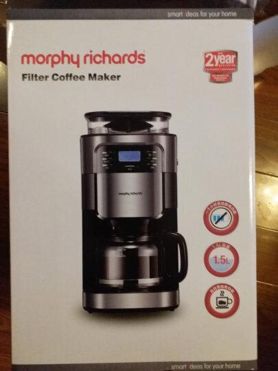 摩飞电器(Morphyrichards) MR1025 咖啡机 美式全自动咖啡机家用商用豆粉两用 黑色 晒单图