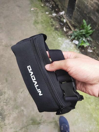 加加林 户外运动腰包 跑步登山骑行腰包手机包袋 健身隐形腰包男女手机腰包 大号 黑色 晒单图