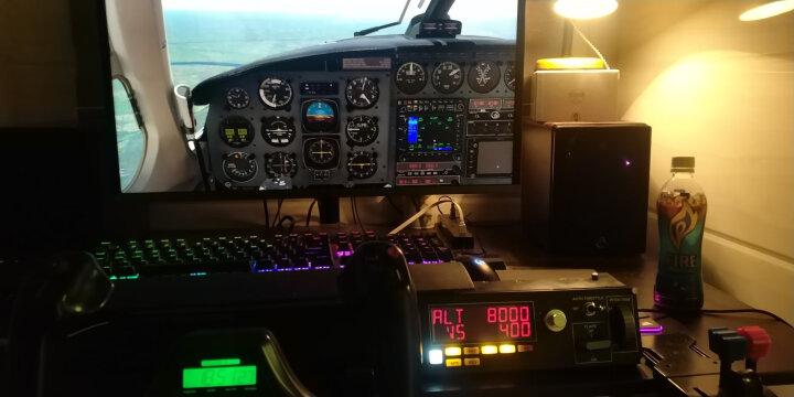 罗技(G)Flight Multi Panel专用自动导航驾驶舱模拟控制器 飞行模拟 赛钛客 自动驾驶面板 晒单图