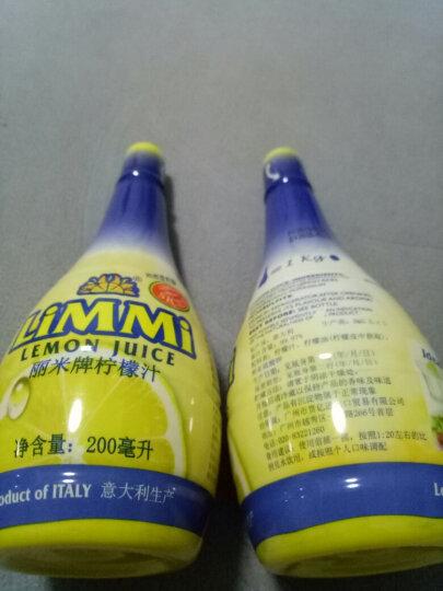 意大利进口  辣西西里 柠檬汁  非浓缩原果汁 烘培原料 佐餐调味冲饮200ml 晒单图