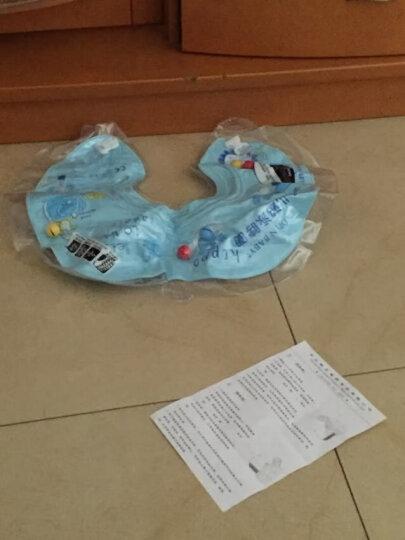 欧培(OPEN)婴儿游泳圈 新生儿童腋下圈宝宝救生圈 双层充气阀门 紫红色腋下圈M码  6-24个月 晒单图