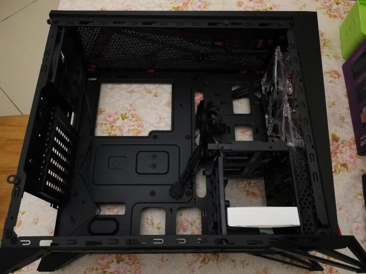 美商海盗船(USCorsair)SPEC-ALPHA  黑红色 中塔游戏机箱(侧透/支持ATX主板/24CM水冷排/38CM显卡) 晒单图