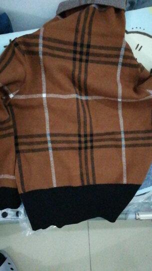 锐莲毛衣女套头针织衫高领外穿打底长袖2018秋冬新款女装 焦糖色 XL(建议115-125斤) 晒单图