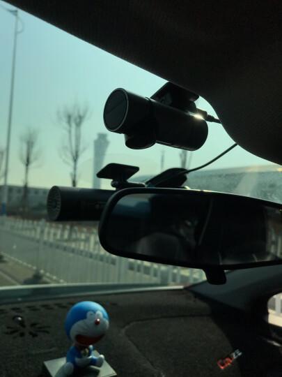 亮视线 隐藏式迷你行车记录仪高清夜视红外补光24小时停车监控记录仪360度全景防划车摄像头前后双录 G6灰色360°标配 无配卡 晒单图