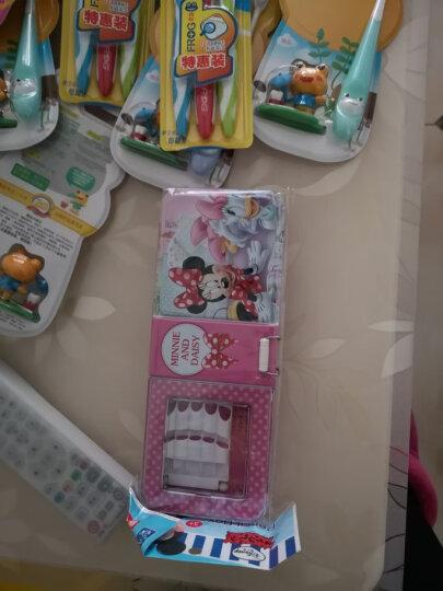 青蛙 2-5岁儿童贝贝软毛牙刷 细软毛小刷头宝宝牙刷 4支装 晒单图