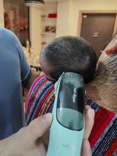 易简(yijan)婴儿童理发器 充电宝宝剃头器 成人可用电推剪剪发器 防水静音电推子 HK500A黄猴 晒单图