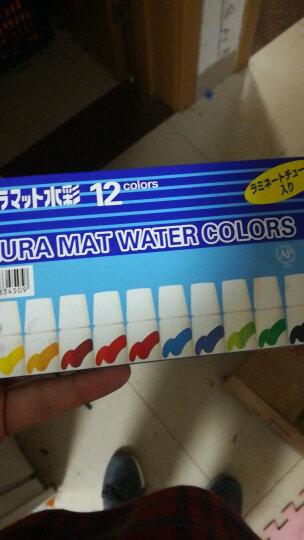 日本樱花(SAKURA)水彩颜料美术绘画 12色半透明水彩套装蓝盒 EMW-12 5ml/支【日本进口】 晒单图