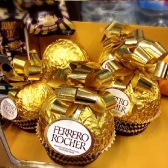 费列罗(FERRERO)榛果威化糖果巧克力 婚庆喜糖零食伴手礼 节日礼物 32粒礼盒装400g 晒单图