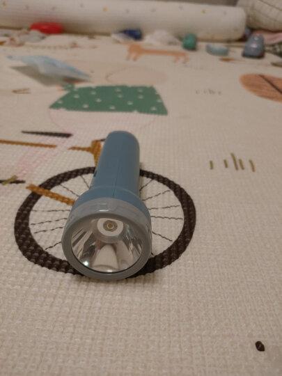 得力(deli)充电式LED手提两档强光探照灯 户外家用手电筒 晒单图
