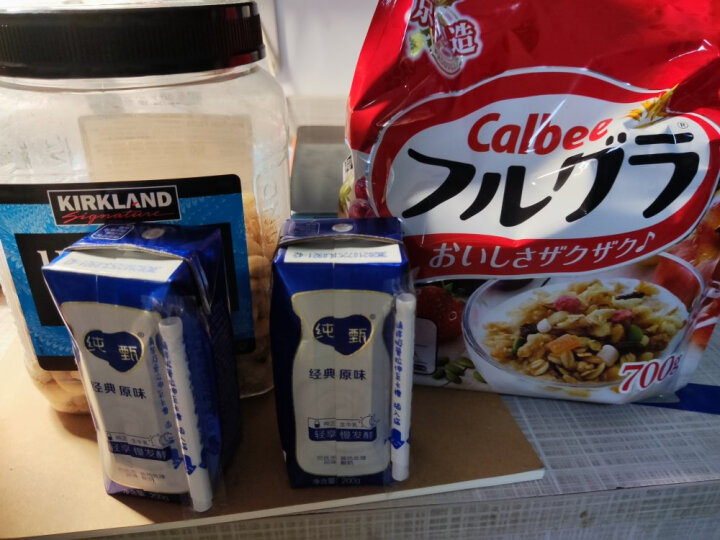 日本进口 Calbee(卡乐比) 富果乐 水果麦片700g/袋 早餐谷物冲饮燕麦片(新老包装随机发货) 晒单图