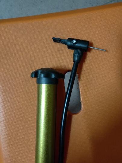 克洛斯威无缝钢管小打气筒充气筒可充篮球足球排球高压便携式迷你打气装备球类打气套装  加重PU篮球-黑色-1300克 晒单图