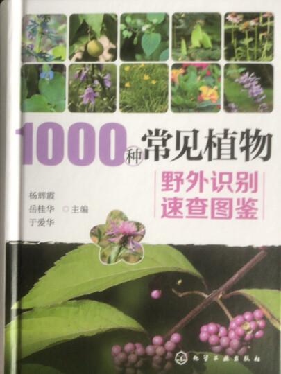 1000种常见植物野外识别速查图鉴(精装、全彩图解、铜版纸) 晒单图
