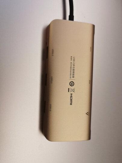 绿联Type-C扩展坞 通用iPadPro苹果M1/MacBook华为笔记本电脑USB-C转HDMI线雷电3转换器4K拓展坞转接头分线器 晒单图