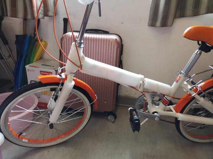 永久(FOREVER) 永久折叠车自行车 铝合金20寸7速/男女学生单车 雅途 绿色 高配 20寸 晒单图
