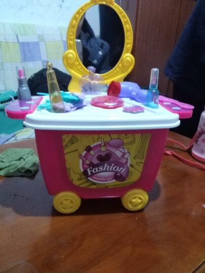 铭塔(MING TA)化妆车过家家玩具 角色扮演仿真益智玩具 儿童男女孩3-5-6岁 晒单图
