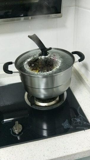 九阳(Joyoung)蒸锅电磁炉通用不锈钢26cm双层复底燃煤气可立锅盖蒸笼ZGB2605 晒单图