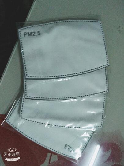 北诺 口罩男潮冬季纯棉保暖口罩男士防尘透气面罩可清洗非一次性PM2.5防花粉呼吸阀可爱女士时尚口罩 黑红格(含10片滤芯) 晒单图