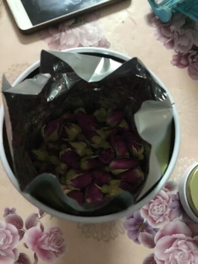 义和祥玫瑰花60g 红玫瑰花草茶罐装 晒单图
