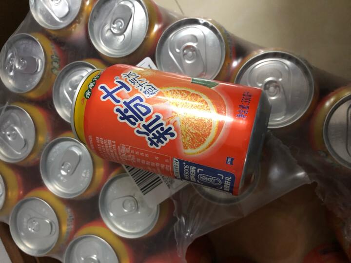 屈臣氏 (Watsons)新奇士橙汁汽水 碳酸饮料 含果汁的汽水 330ml*24罐 整箱装 晒单图