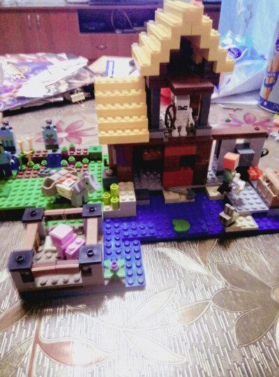 我的世界方块积木模型农庄矿场人仔创意立体拼插儿童益智拼装玩具6-12岁男孩生日礼物 莫尔卡山庄(赠收纳盒+礼品) 晒单图