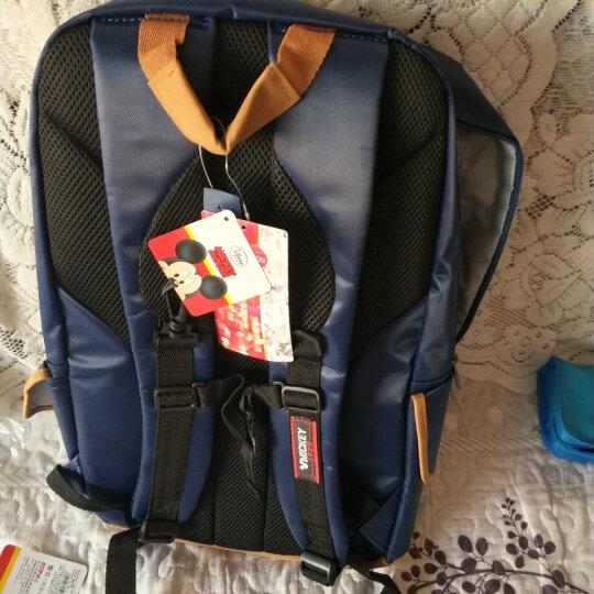 迪士尼(Disney)小学生书包男米奇中学生双肩背包男女3-4-6年级儿童书包 SM11380玫红 晒单图