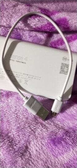 罗马仕(ROMOSS)sense4超薄小巧充电宝10000毫安超智能移动电源迷你便携双输出适用于苹果/安卓手机平板白色 晒单图
