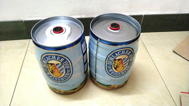 德拉克(Durlacher)小麦啤酒500ml*8听 礼盒装 德国原装进口 轻便时尚 纯正麦香爽口回甘 晒单图